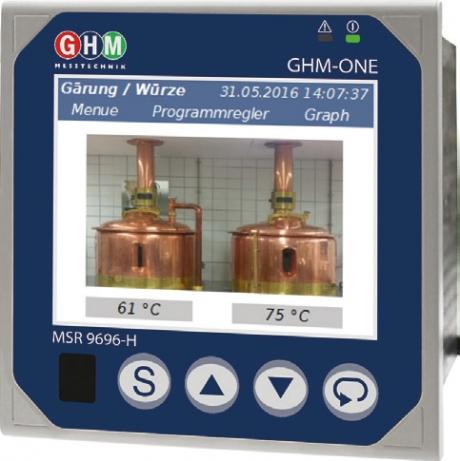 GHM-ONE Multifunktionsregler MSR9696H