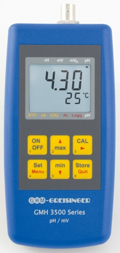 pH-/Redox-/Temperaturmessgerät GMH 3511