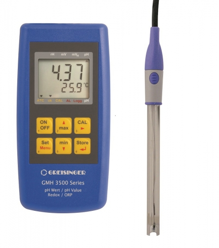 Komplettset zur pH- / Redox- / Temperaturmessung | GMH 3511-G125