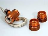 Axialturbinen-Durchflusssensor für Flüssigkeiten VTH 25 MS-180