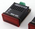Universelle LowCost-LED-Anzeige für Normsignale und Temperatur GIA 2448/WE