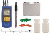 Komplettset zur pH-/Redox-/Temperaturmessung: GMH 3531-SET100