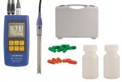 Komplettset zur pH-/Redox-/Temperaturmessung: GMH 3531-SET125