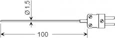 Einstechfühler (Typ K) GTE 130 OK