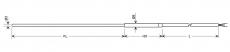 Messfühler Typ N (NiCrSi-NiSi), Klasse 1 GTF 101-N03...