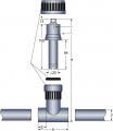 2-Elektroden Leitfähigkeits-Messzelle LF 2203