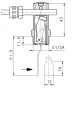 Durchflusswächter Fluvatest UR1-...HM/HK